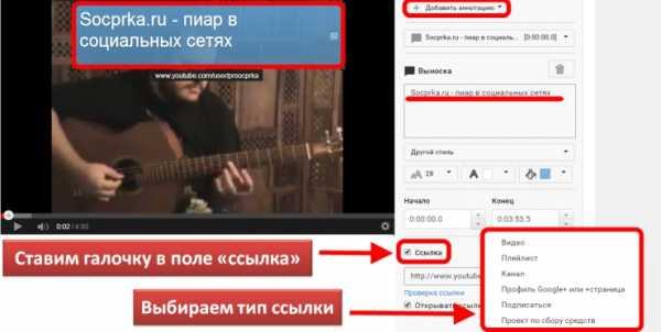 Сайт для создания ссылок на youtube акт при создании сайта